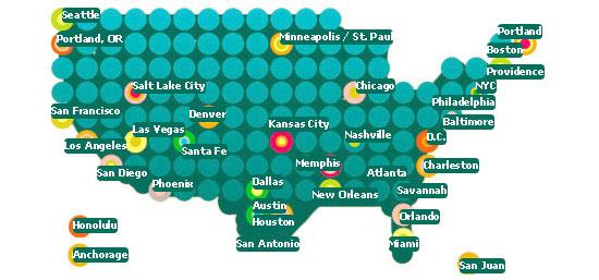 Americas Favorite Cities