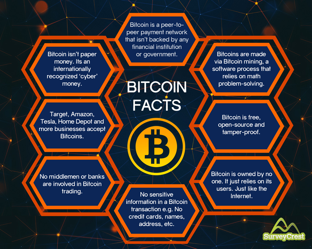 The Past Present and Future of Bitcoins