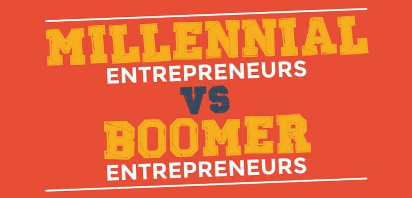 Millennial Entrepreneurs Vs Boomer Entrepreneurs