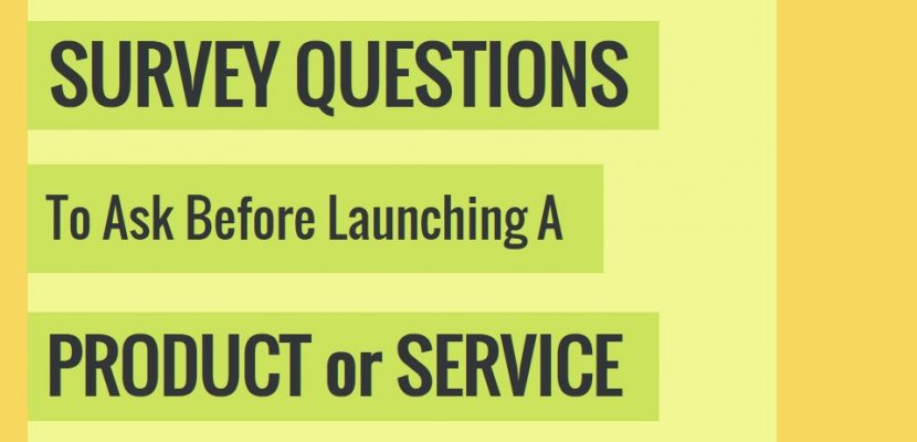 Survey Questions To Ask Before Launching A Product Part Ii