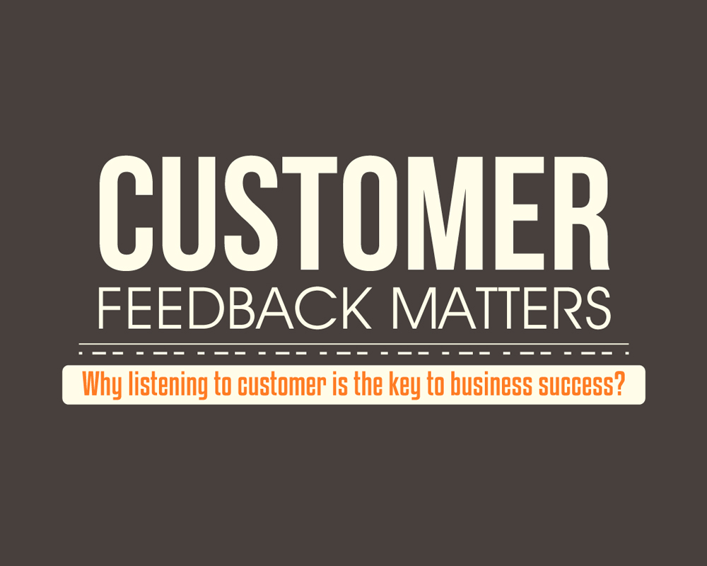 infographic customer feedback matters why listening to