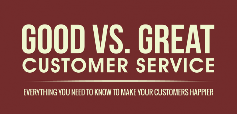 [INFOGRAPHIC] Good Vs. Great Customer Service  Excellent Customer Service