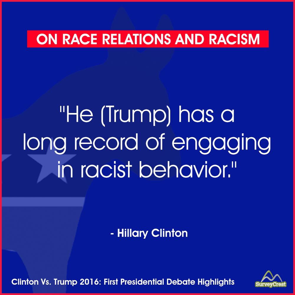 Trump Vs. Clinton: First Presidential Debate And