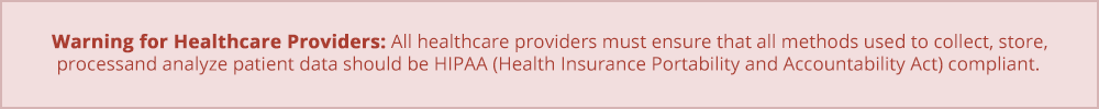 Warning for Healthcare Providers