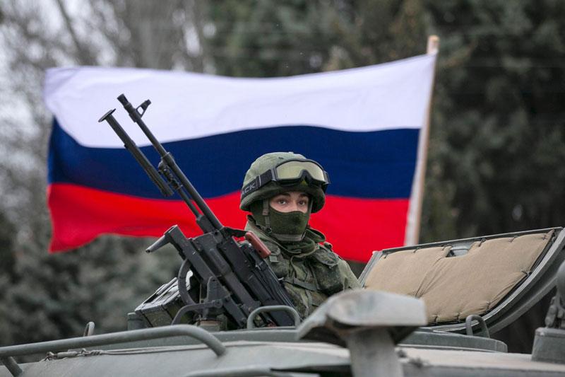 Accuses Russia
