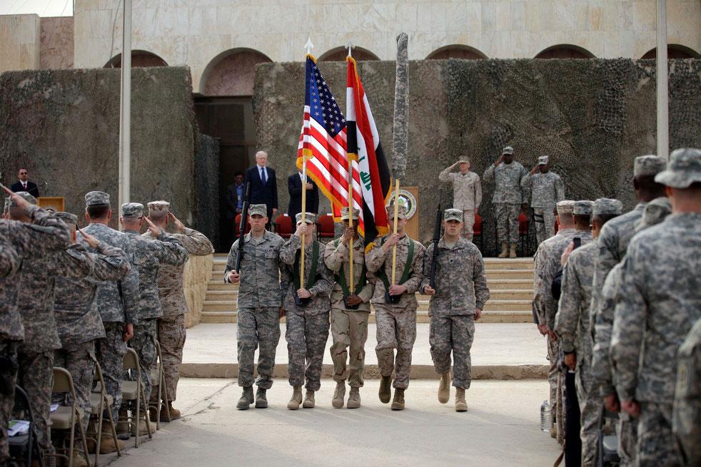 Declares Iraq War