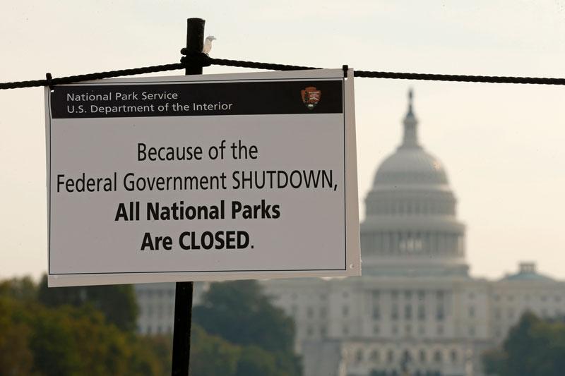 Government shuts down