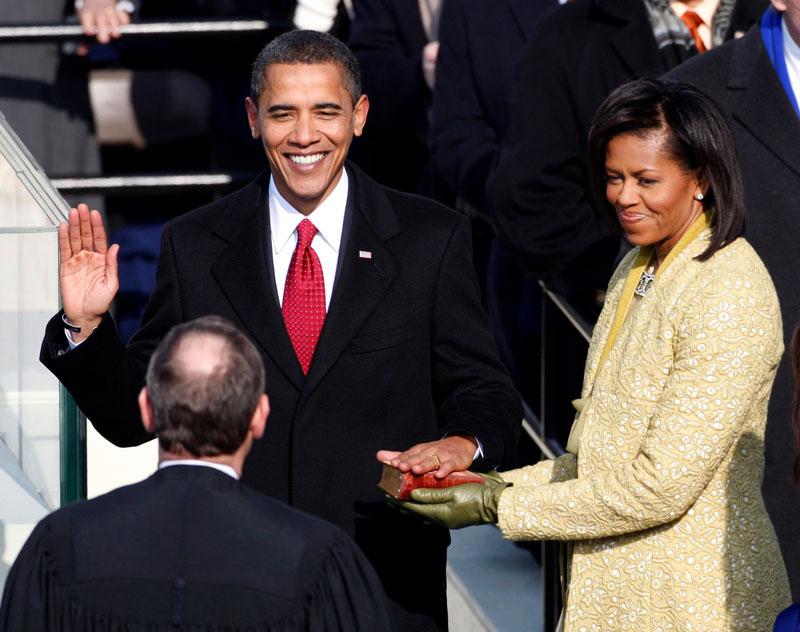 second term as President