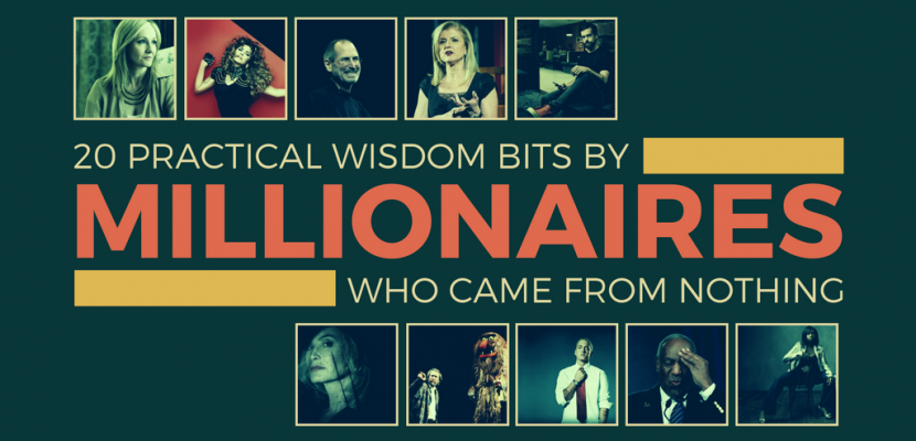 Wisdom Bits By Millionaires